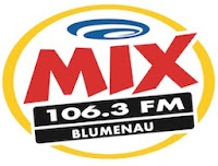 Rádio Mix FM 106,3 de Blumenau SC