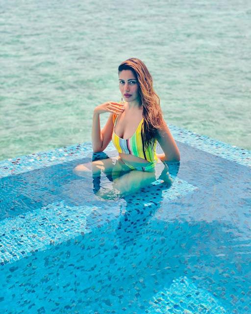 Surbhi Chandna Bikini Photos from Maldives