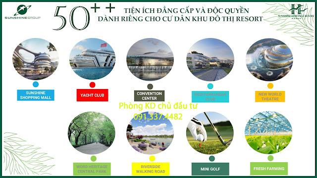 Mở bán biệt thự dự án Sunshine Heritage Resort Phúc Thọ Hà Nội (Xuân Phú Cẩm Đình)