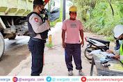 Polres Pangkep Lakukan Pengamanan dan Pengawasan di Kawasan Industri PT Semen Tonasa