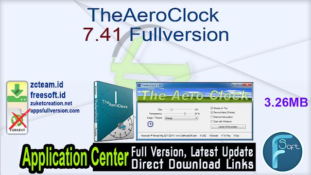 TheAeroClock 7.41 Fullversion