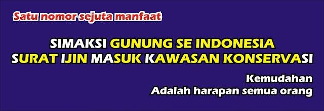 SIMAKSI Online Gunung Se Indonesia