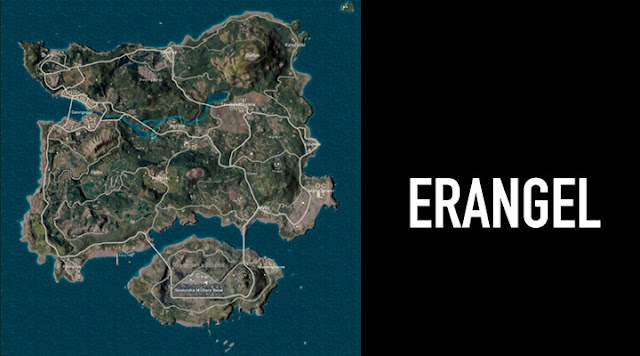 BGMI : Three best locations to land for rank push in Erangle map