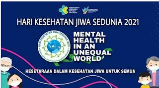 Mental Health In Unequal World Kesehatan Dalam Kesehatan Jiwa Semua Bersama Kang Yayo Ledug ( Yayasan ODGJ )