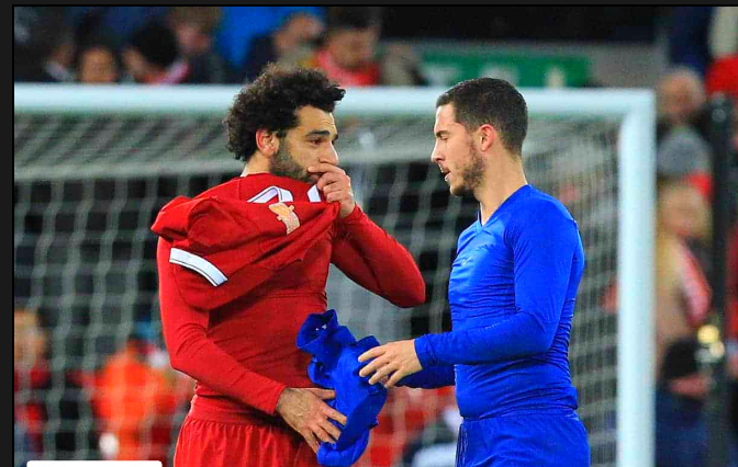 Real Madrid is gearing up for a Hazard-Salah switch with Liverpool.