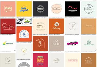 Ide template keren logo bakery / toko roti -kanalmu