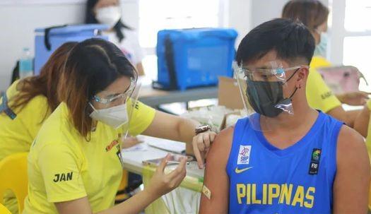 Covid-19 vaccination program at the new facility began