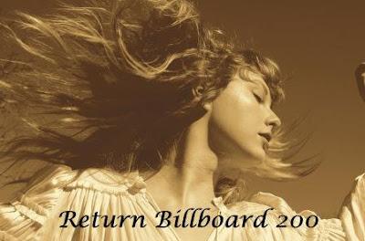 Album Fearles Taylor Version kembali ke chart no 1 Billboard 200