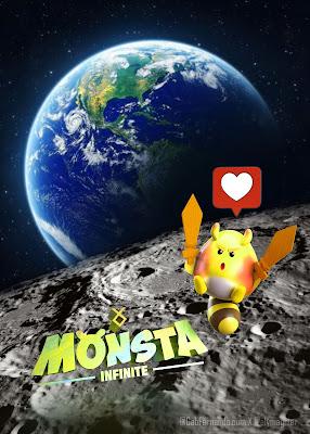 Monsta Infinite to the Moon!