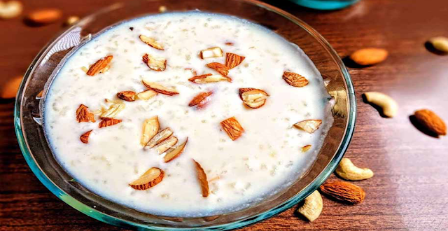 Kheer is made with