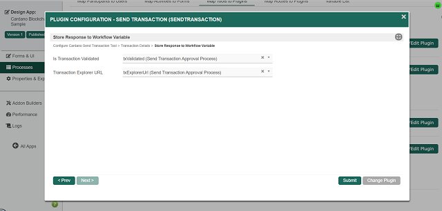 Configure Cardano Send Transaction Tool - Page 3
