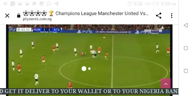 ⚽⚽⚽⚽ 🏆 Champions League Manchester United Vs Atalanta Live HD ⚽⚽⚽⚽