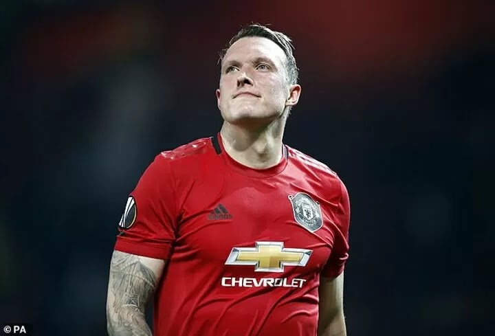 Phil Jones reveals his struggle to cope with criticism on 'toxic' social media