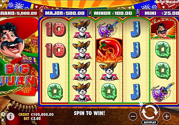 Main Gratis Slot Indonesia - Big Juan Pragmatic Play