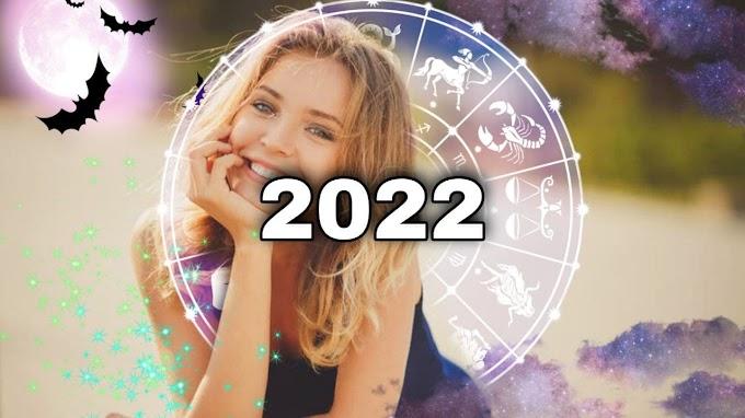Женский гороскоп на 2022 год