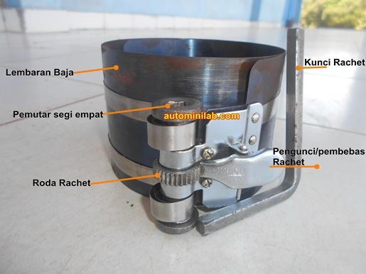 Cara Menggunakan Piston Ring Compressor