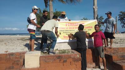 Laskar NTB Ungkap Dugaan Mafia Tanah di Gili Trawangan