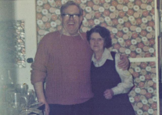 Granda and grandmother