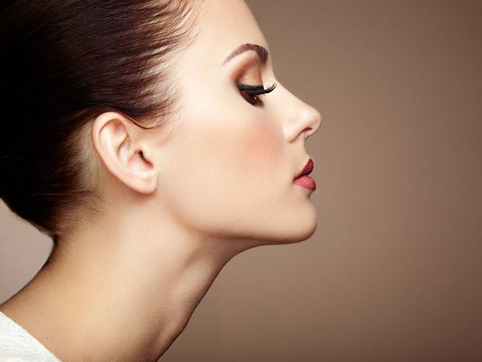 Rhinoplasty of the nose without surgery