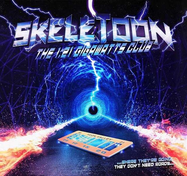 """Ο δίσκος των SkeleToon """"The 1.21 Gigawatts Club"""""""