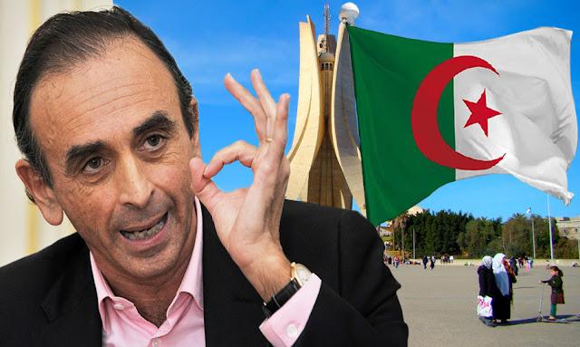 إريك زمور يهاجم الجزائر eric zemmour