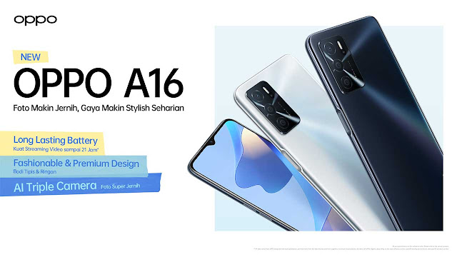 Oppo A16 4GB 64GB Full Mobile Specifications - SheriyarTech