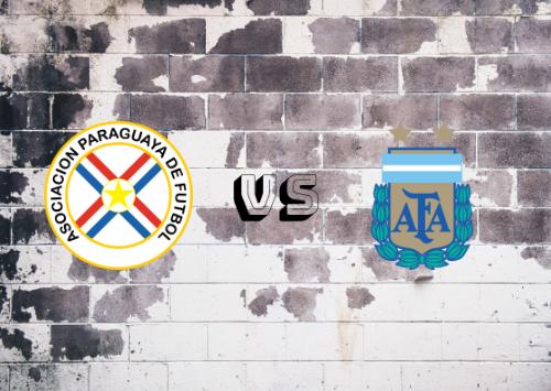 Paraguay vs Argentina  Resumen y Partido Completo