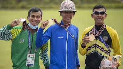 Prajurit Yonif Raider 303 Kostrad Raih Juara Tiga Marathon PON Papua