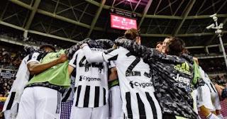 تغلب يوفنتوس على جاره تورينو 1-0 في ديربي الذي أقيم على ملعب تورينو الأولمبي يوم السبت.