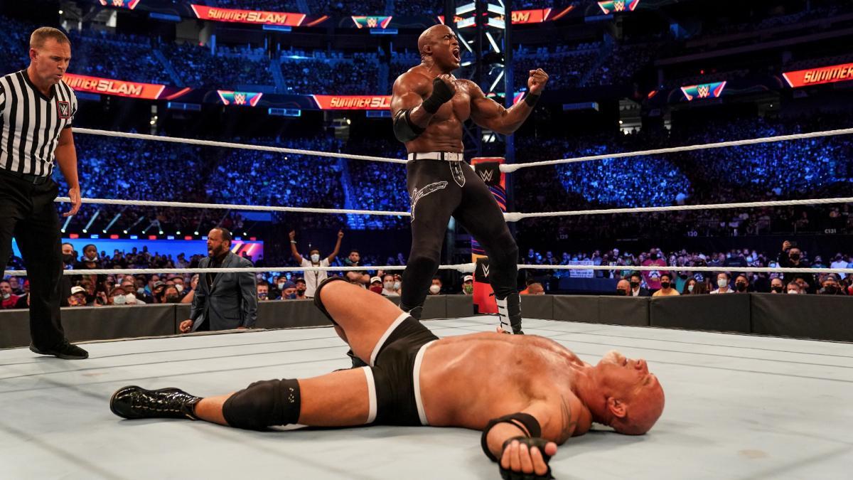 Bobby Lashley vs. Goldberg II deve acontecer no WWE Crown Jewel 2021