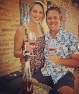 Jamie Yuccas with her ex-hubby John Sheehan