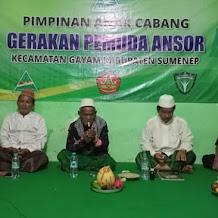 PAC GP Ansor Gayam Sumenep Gelar Peringatan Maulid Nabi