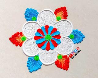 Simple Rangoli Border Designs