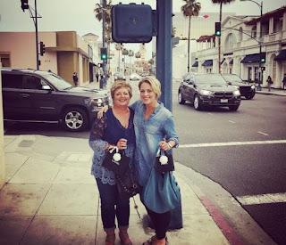 Jamie Yuccas with her mom Karen