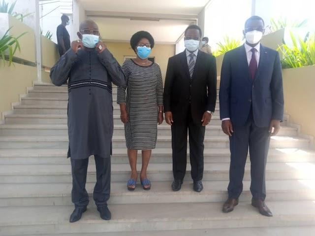 Un tête-à-tête entre le président de la Cour suprême du Togo et le ministre de la sécurité