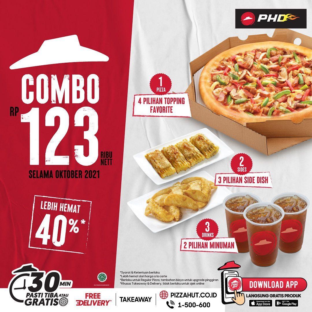 Promo PHD COMBO 123 – TIGA PAKET cuma Rp. 123RIBU