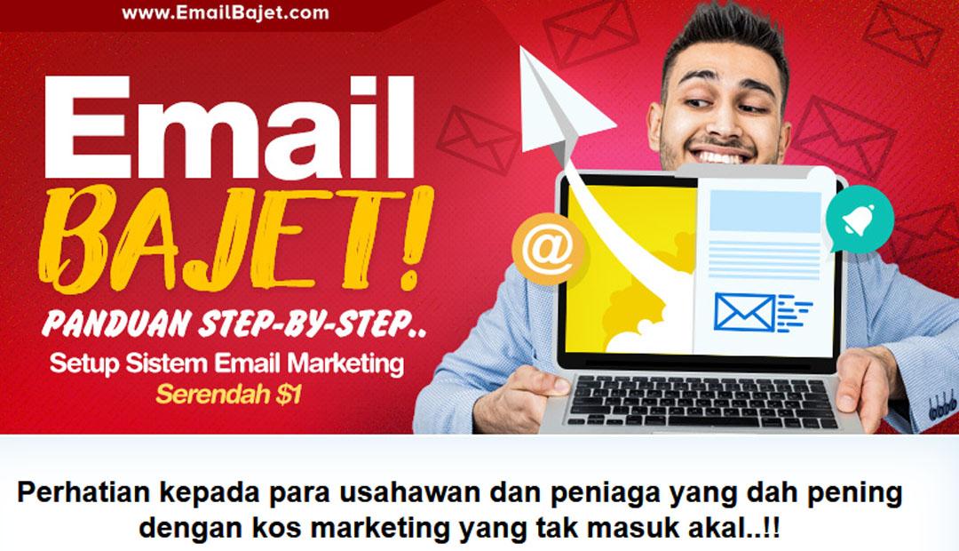 Email Marketing Murah dan Bajet