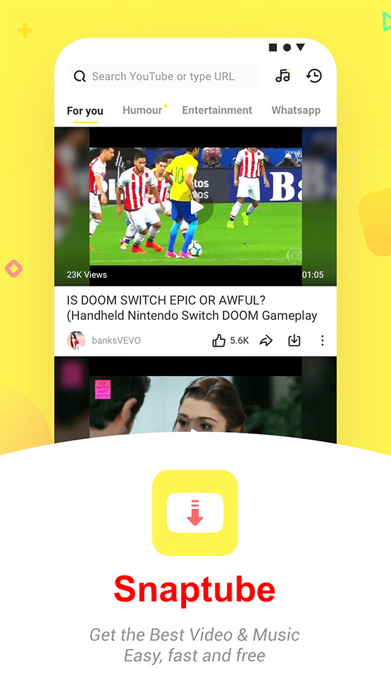 Tải Snaptube Apk, Công cụ download video Youtube cho Android h