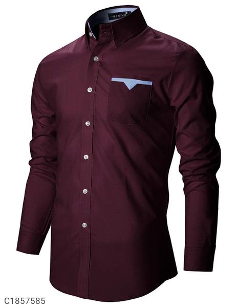 Finivo Fashion Poly Cotton Shirt For Men | Shirts For Men | Mens Shirts Online Shopping |
