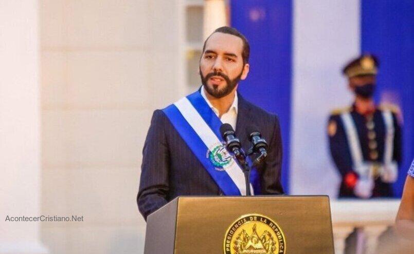 Nayib Bukele contra el aborto y matrimonio igualitario en El Salvador