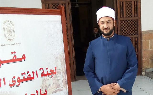 الشيخ محمد صبح عضو الفتوى بمدينة دسوق
