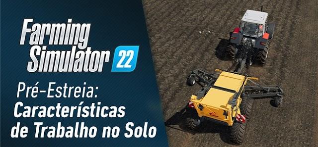 Rocks'n rolling: novas ferramentas de trabalho do solo e texturas no FS22!