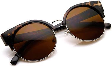 Cheap Tortoise Shell Vintage Cat Eye Sunglasses for Women