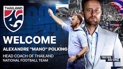 เปิดตัวอย่างเป็นทางการแล้ว!! ทีมชาติไทยชุดใหญ่ เปิดตัว มาโน่ คุมทัพขัดตาทัพ