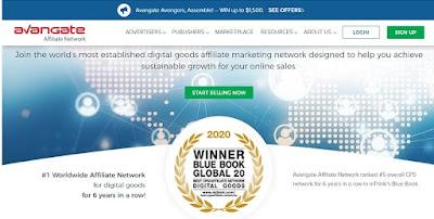 6. Avangate - أفضل موقع افلييت للمنتجات الرقمية