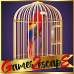 G2E Scarlet Macew Parrot Rescue