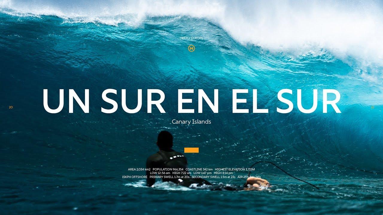 Un sur en el sur Jonathan Gonzalez Surfing Tenerife