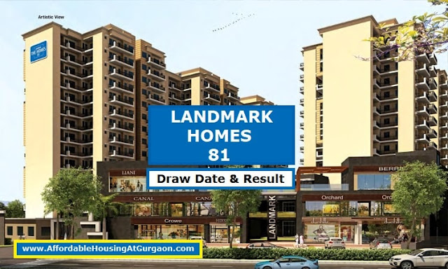 Landmark Homes 81 Draw Date and Draw Result