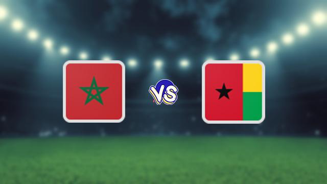 نتيجة مباراة المغرب وغينيا بيساو اليوم 09-10-2021 في التصفيات الافريقيه المؤهله لكاس العالم