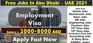 Free Jobs In Abu Dhabi, UAE 2021 || Al Otaiba Group of Companies